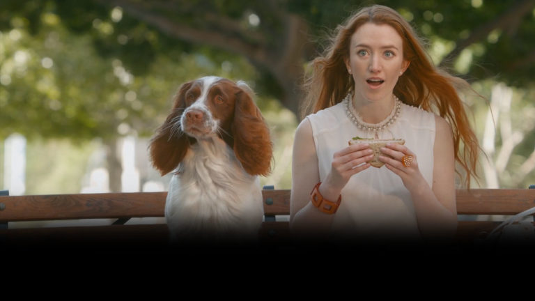 burger king whopper envy commercial dog and redhead