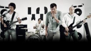 woodstock mafia trigger & gun music video band members in white room