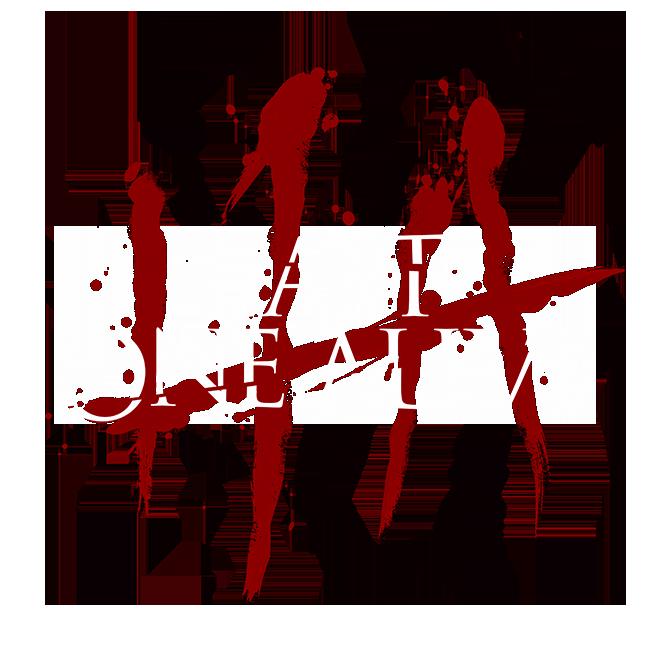last one alive logo bloody slashes tally marks