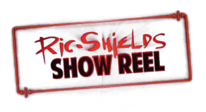 Ric Shields showreel red neon title alpha